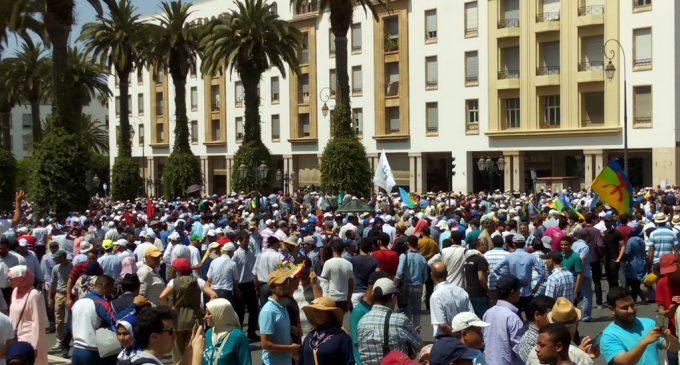 La Marche historique de Rabat pour soutenir le Hirak du Rif