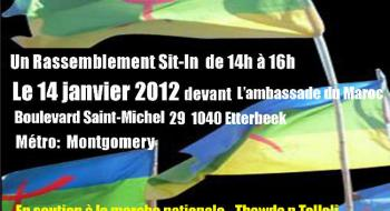Appel à un rassemblement sit-in à l'occasion du Nouvel an Amazigh 2962