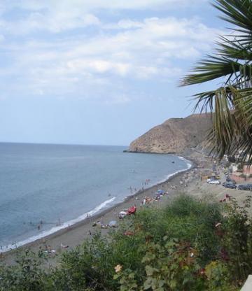 Alhoceima beach, Tara Youssef